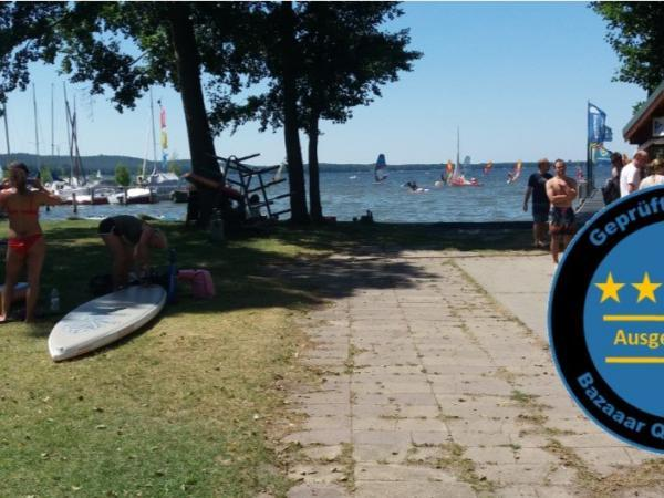 Ein schöner Tag bei der Surf- und Segelschule am Müggelsee